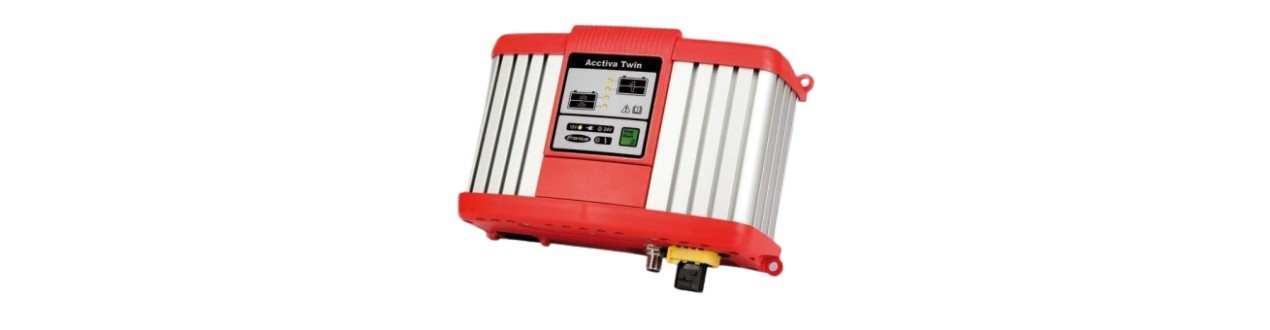 Batterie Ladegerät Mehrkreis Ladesytem Fronius ACCTIVA TWIN