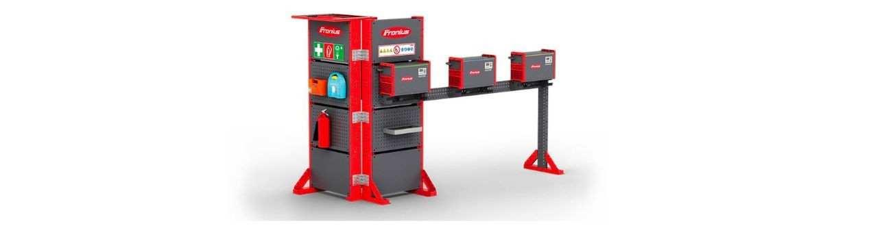 Normgerechte Batterieladestationen und - Räume