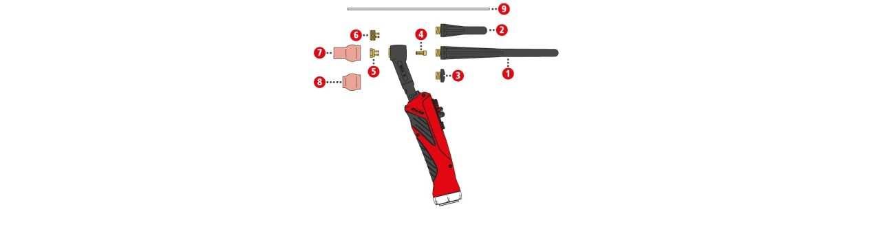 Fronius Verschleissteile für TTB 160A ML G / TTB 300A W ML (Multilock)