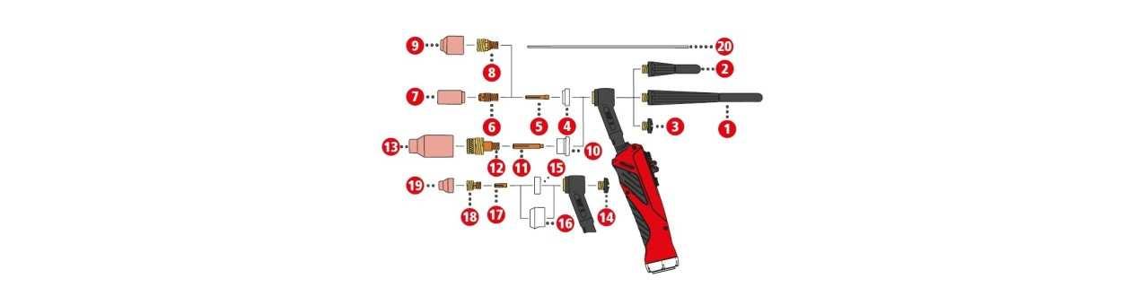 Fronius Verschleissteile für TTB 160P ML G / TTB 300P W ML (Multilock)