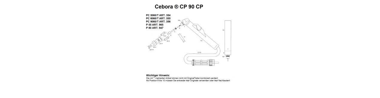 Cebora ® CP 90 CP 91