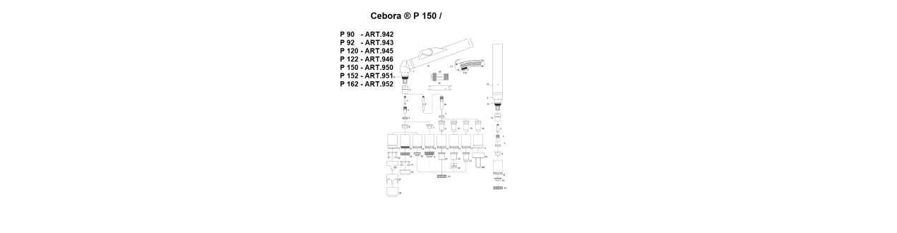 Cebora ® P 150 / CP 160