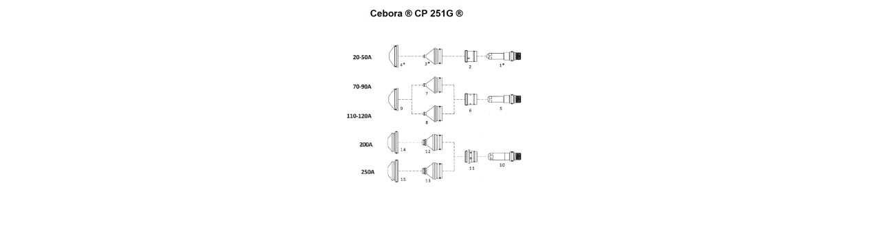 Cebora ® CP 251G ®