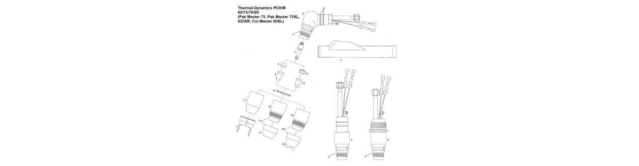 Thermal Dynamics - PCH/M 60/75/76/80 - Nachbauten