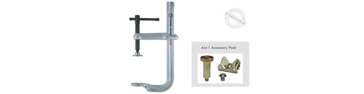 4-IN-1-Utility-Gleitarmklemmen