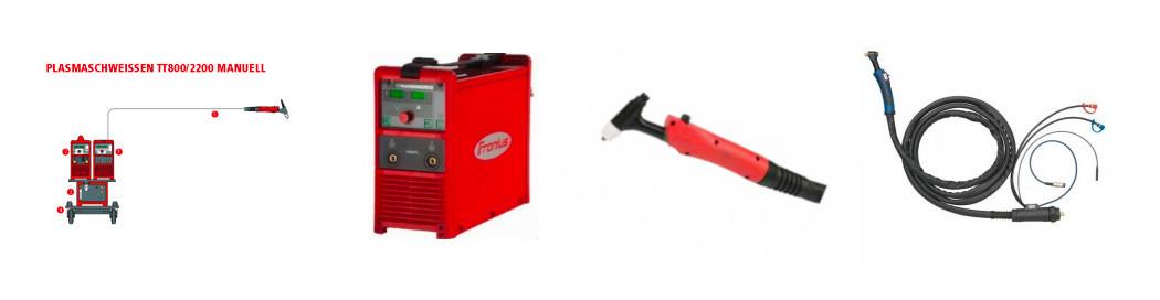 Plasmaschweißgeräte / Plasmaschweißbrenner und Zubehör