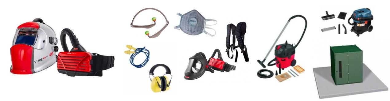 Atem- und Gehörschutz