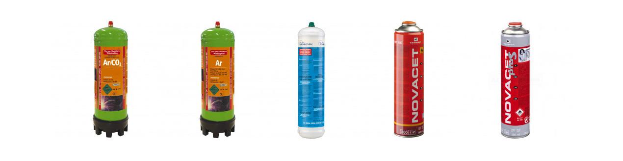 Einweg Gasflaschen
