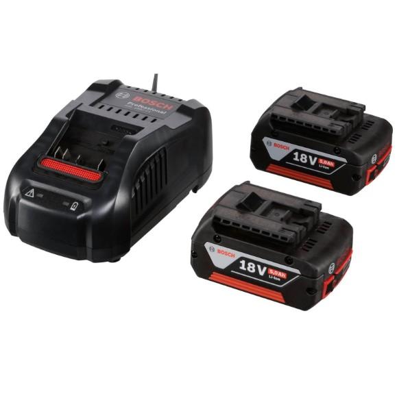 Batterien und Ladegeräte