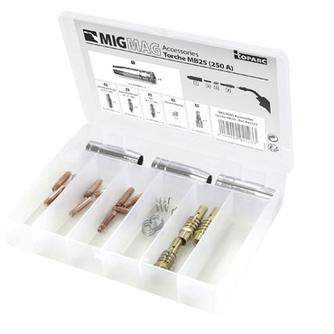 MIG Brennerverschleißteile für MB 25 - 250 A