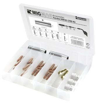MIG Brennerverschleißteile für MB 36 - 350 A