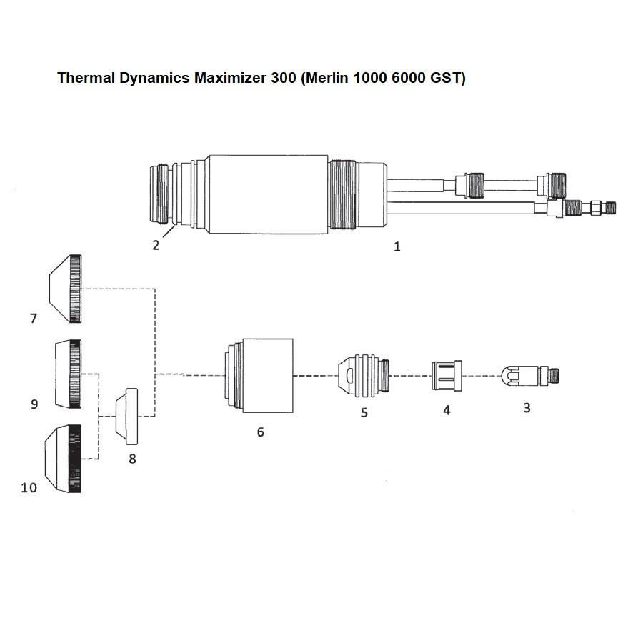 Thermal Dynamics -  Maximizer 300 (Merlin 1000 6000 GST) - Nachbauten