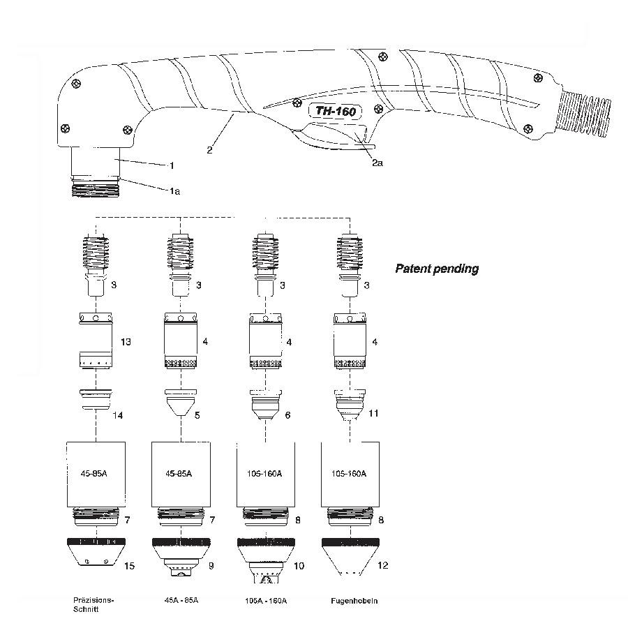 CEA - Plasma Shark 155 - Nachbauten
