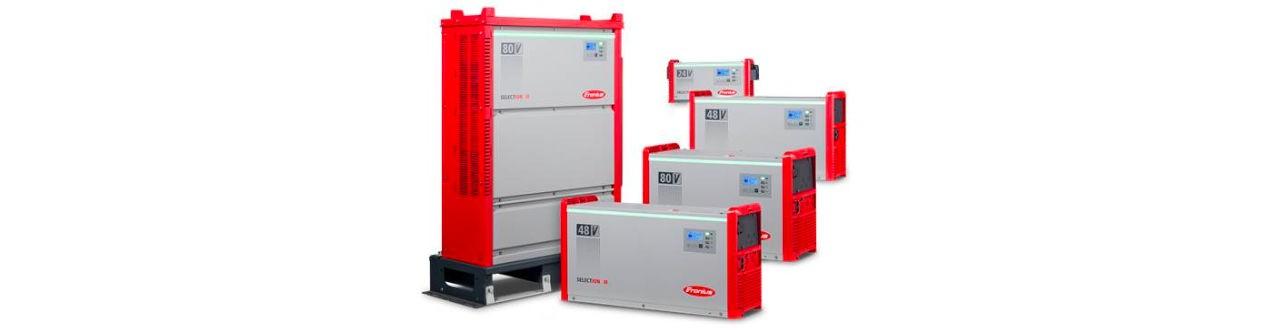 Ladegeräte für Litium-Ionen Batterien